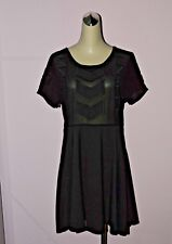 MINKPINK SZ M MEDIUM LITTLE BLACK DRESS EXCELLENT