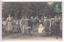 CPA  VINCENNES 94 -  LAITERIE EN PLEIN BOIS DE VINCENNES TRAITE VACHE 1911 ~B92