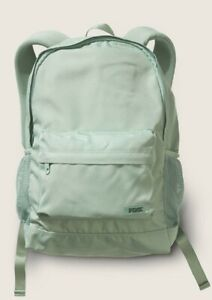NWT VICTORIA'S SECRET PINK CLASSIC BACKPACK SEASALT GREEN FREE SHIPPING