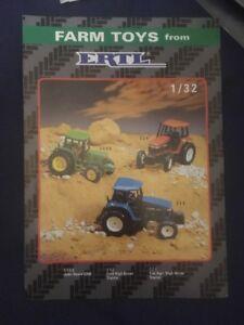 Ertl Farm Toys Brochure