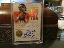 Panini Flawless Gold Benchmarks Autograph Broncos Auto Peyton Manning 10/10 2014