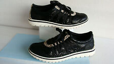 Sorel Tivoli Go Lux Sneakers/ Casual Shoes Black/ White ~Wo's Size 8 ~ Very Good