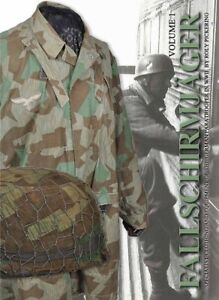 Fallschirmjager Volume 1 Book by Roly Pickering WW2 German Army uniforms & gear