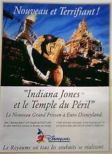 page de publicite -  PARC LOISIRS  EURO DISNEYLAND   en 1994    ref. 49310