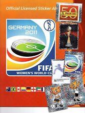 Panini Frauen Fußball WM 2011 bis zu 10 Sticker aussuchen