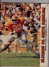 11/22/80 Clemson vs.South Carolina football program Heisman Winner George Rogers