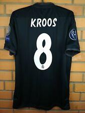 8df73630ec6 Kroos Real Madrid jersey small 2018 2019 third shirt CG0584 soccer Adidas