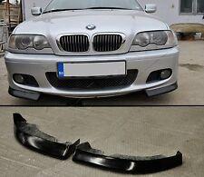 BMW E46 3 series M tech M sport front bumper addon splitter spoiler