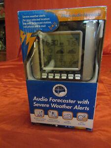 LA Crosse 3-Day Talking Weather Forecast Station Wireless Internet WA-1030U NEW