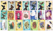 BELIZE 1974 - 1990 Collection (21) CV $52+