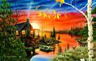 Autumn Evening 550 Pc Jigsaw Puzzle By SunsOut For Sale