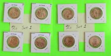 #2s 2018 PD  Pos A&B 4 Coins $1 Native American- Mint Bags