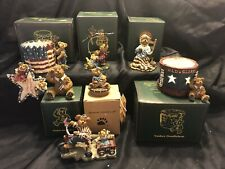 Boyds Americana Resin Figurines Random Lot of 8