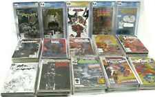 Mixed Lot of (3) Marvel, DC Comics Silver Era to Current Day CGC Graded Books