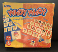 Who's Who? Game From Asda Complete