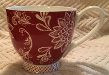 New listing Portobello By Inspire Set Of 3 Large Coffee Tea Mugs Red Floral