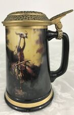 Prayer To The Great Spirit Stein, Limited Edition By Buck McCain #1913