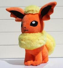 "Flareon 12""  Pokemon Plush Toy Collectible Stuffed Animal Doll Rare Large Size"