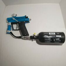 NEW Azodin Blitz 3 Paintball Marker - Blue/Silver + NEW Valken 3000PSI TANK!