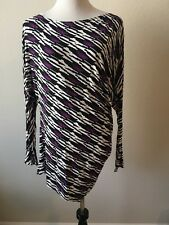 Tart Collections Crystal Top Purple Black White Sz S
