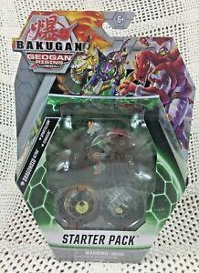 Bakugan Geogan Rising Starter Pack Dragonoid Ultra Spartillion Ferascal