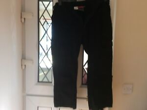 """MENS BKS WORK  TROUSERS IN EXCELLENT CONDITION 36"""" WAIST 23"""" INSIDE LEG"""