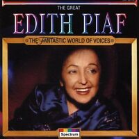 Edith Piaf Great (compilation, 13 tracks, 1979) [CD]