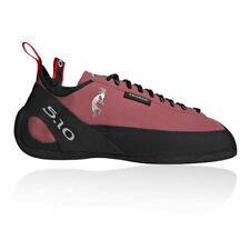 Five Ten Mens Anasazi Lace Climbing Shoes - Black Pink Sports Breathable