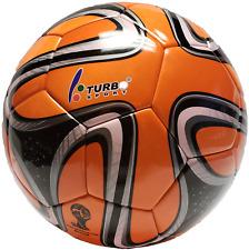 Turbo Sport FIFA 2014 Brazuca Soccer Ball Replica Orange