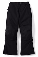 Children's Ski Trouser / insulated / waterproof in Black - by Land's End - Age 4