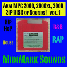 Akai mpc3000  Zip  Disk works with MPC2000 Hip Hop v1