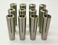 "#3 MORSE TAPER COLLET SET - 12 PIECES, SIZES 1/8"" - 3/4"" 3MT MT3     XS234"