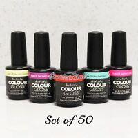 Artistic Nail Design Colour Gloss SET OF 50 Colors Gel Polish Lot Kit > SHIP 24H