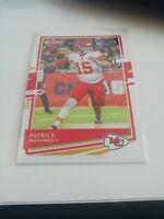 Patrick Mahomes Kansas City Chiefs 2020 Panini Donruss #1 NFL Trading Card