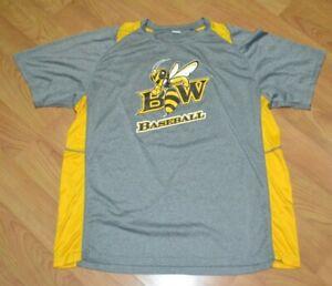 Baldwin Wallace Yellow Jackets Baseball Performance Jersey Shirt 2XL XXL Berea