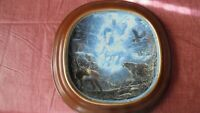 Snow Rider first Issue in the Visions of the Sacred collector plate with frame