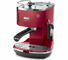 De'Longhi ECOM311.R 1.4L 1100W Icona Micalite Ground & Pod Coffee Machine Maker