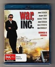 War, Inc. Blu-ray - Brand New Sealed