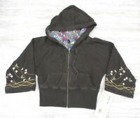 Da-Nang Surplus Women's Hooded Sweater Embroidered JAVA FTG227851 X-SMALL XS
