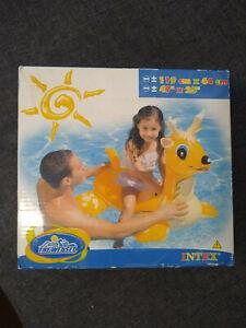 Intex Deer Ride-On Rare Inflatable NIB