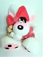"""Diddlina Mouse Holding Teddy Depesche Germany 12"""" Soft Toy Plush with Dress EXC"""