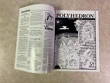 POLYHEDRON 1985 Issue 23 Volume 5 Number 2 RPGA Network TSR Newszine #T935