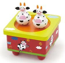 Viga Caja Musical De Madera-entrega gratuita de vaca ()
