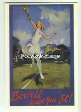 ad3617 - Bovril - Keeps You Fit - Modern Advert Postcard
