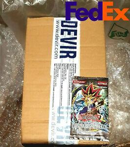 SDK Yugioh Metal Raiders MRD 1st Edition Factory Sealed Case: 140 Booster Packs