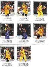2018 RITTENHOUSE WNBA LOS ANGELES SPARKS 8 CARD TEAM SET * CANDACE PARKER *
