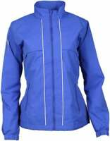 Page & Tuttle Windshirt Flap Jacket  Athletic Golf  Outerwear Blue Womens - Size