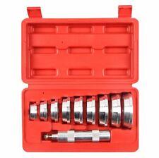 WM Tools 10pc Aluminium Bearing Race & Seal Driver Set Car Tool Kit