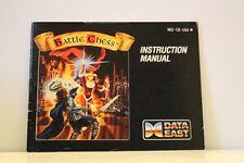 Battlechess NES Video Game Manual Instructions Nintendo