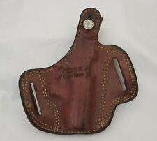 Cobra Gunskin Brown Leather Holster Competition Proven